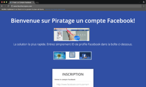 Pirater un Compte Facebook 2018